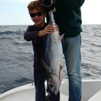 La pêche de Théo !