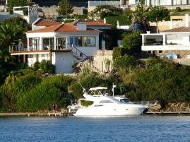 Maison dans la baie de Mahon