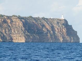 Les falaises de Formentera