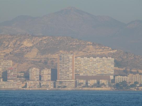 La côte avant Alicante
