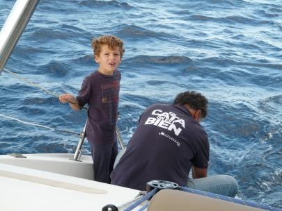 A quelques miles de Cabo Roig Théo pêche son 4ième poisson !