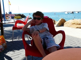 Petite pause à Capo Roig.