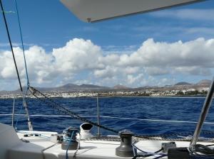 La côte est de Lanzarote.
