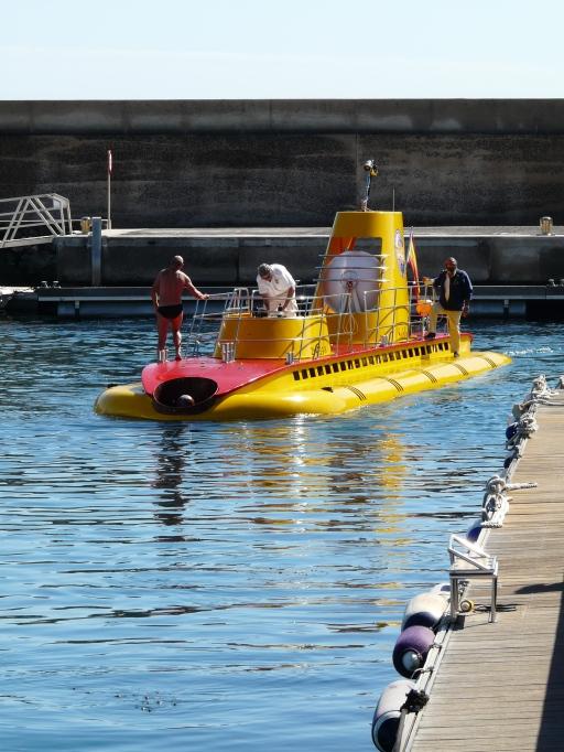 "Le ""Yellow Submarine""."