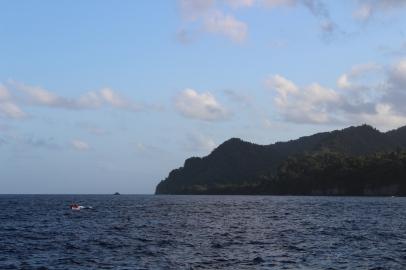 Pointe extrême nord de la Martinique.