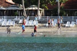 Scène de pêche à Grande Anse.
