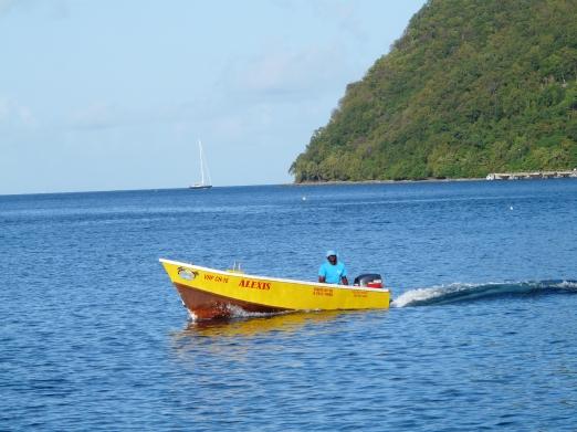 Notre boy's boat : Alexis