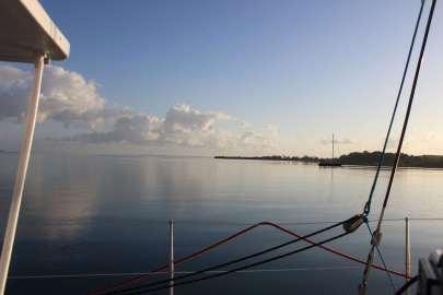Mouillage de Baie Mahault.