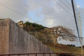 Le fort de Saint-Georges (au-dessus des urgences :-) ).