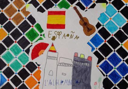 l'Alhambra vu par Théo.