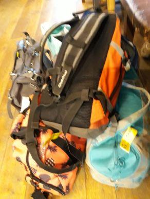 Nos bagages à main...