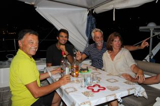 J-R, Hyppolyte, Alain et Isabelle