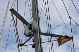 Pas mal le drapeau sur bâbord non ?!