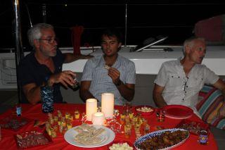 Alain, Hyppolyte et Gilbert