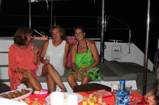 Isabelle, M-C et Claire