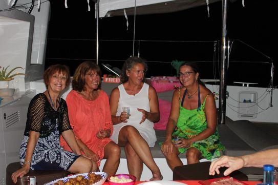 Domy, Isabelle, M-C et Claire