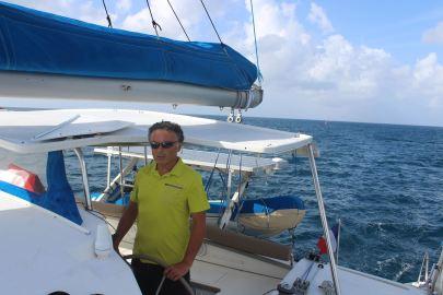 Un capitaine heureux :-)