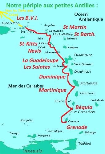 1. Petites Antilles