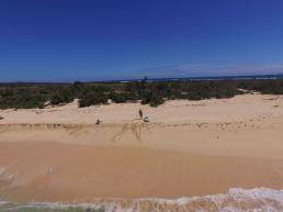 Surf sur sable :-)