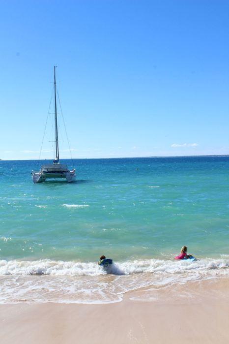 Surf sur l'eau :-)