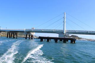 Le pont-tournant routier qui permet de relier Sint Maarten à St Martin.