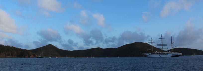 """Arrivée à """"The Bight"""" sur NORMAN Island."""
