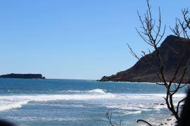 La côte sauvage de St Barth.