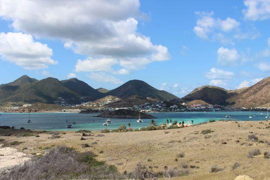 Mouillage derrière l'îlet Pinel avec TEIVA.