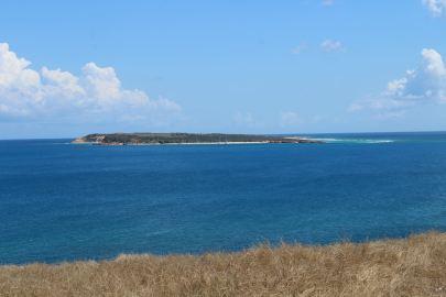 Ilet Tintamarre depuis l'îlet Pinel.
