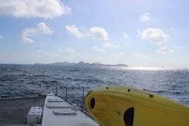 En route vers COOPER Island.