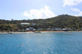 Manchioneel Bay sur COOPER Island.
