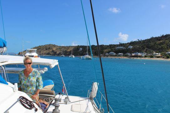 On ne s'arrête pas à Manchioneel Bay sur COOPER Island.