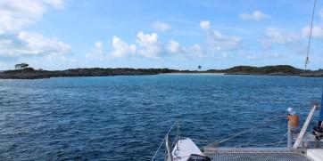 Arrivée à SW Allans Cay