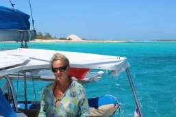 Départ de Norman's Cay