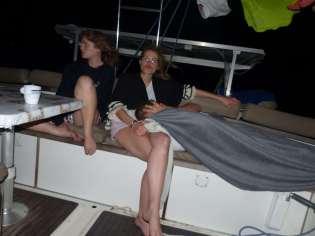 Une longue nuit de navigation...