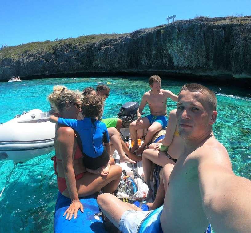 Fin du snorkeling :-)