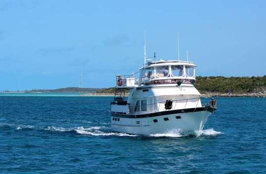 Type de bateau très fréquent aux Bahamas