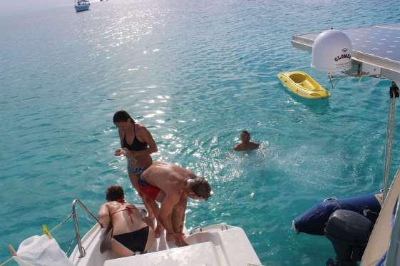 Economie d'eau douce : pré-rinçage à l'eau de mer ;-)