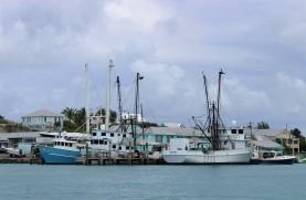 Les bateaux de pêche à la langouste.