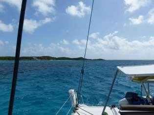 Arrivée à Normans Cay