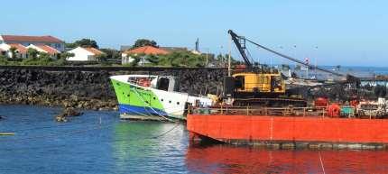 Un Ferry comme le notre, pour lequel la traversée s'est moins bien passée !
