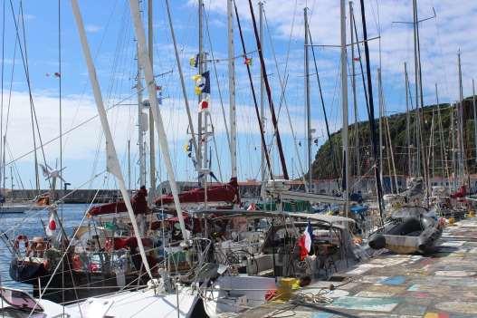 SEA YOU au ponton (avec le superbe drapeau Français ;-) )