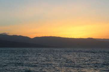 5h30, lever de soleil sur la côte Espagnole.