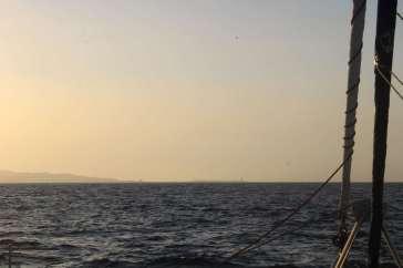 Face à TEIVA le détroit de Gibraltar.