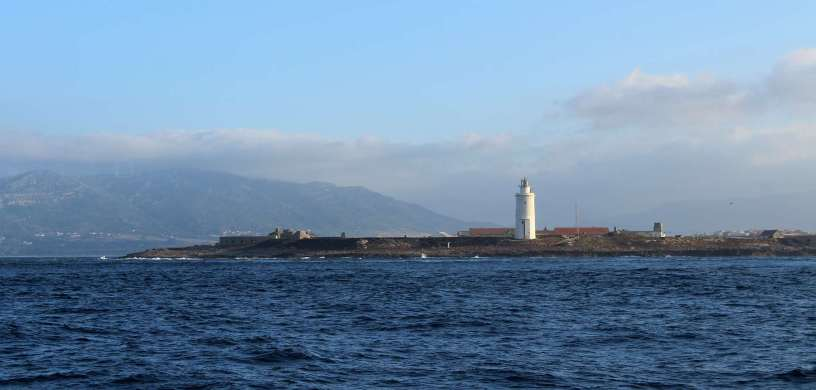 Tarifa, à l'entrée du détroit de Gibraltar.