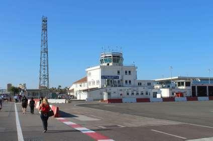 Aéroport de Gibraltar.