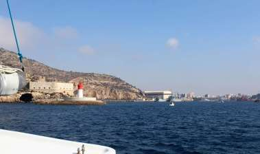 Le port de Carthagène.
