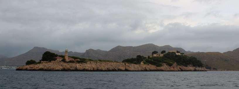 Arrivée dans la baie de Pollença.